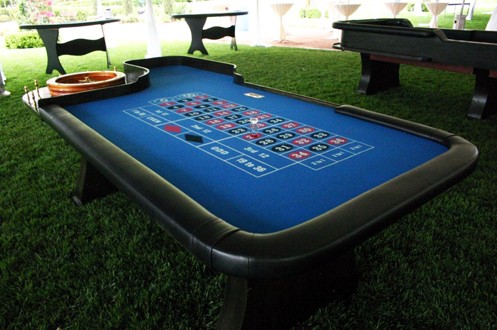 Roulette tables for rent