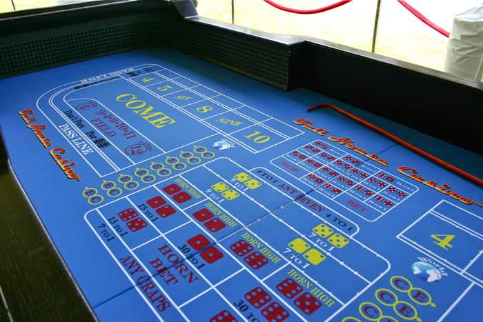 Craps Table Rental For Casino Night Full House Casino Events