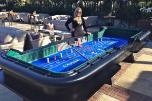 Craps Casino Party Rental Irvine, Orange County, CA