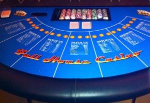 Let It Ride Poker Table Rental For Casino PartiesIrvine, Orange County, CA