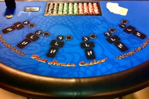 Pai Gow Poker Casino Party Table Rental Orange County, Irvine, CA