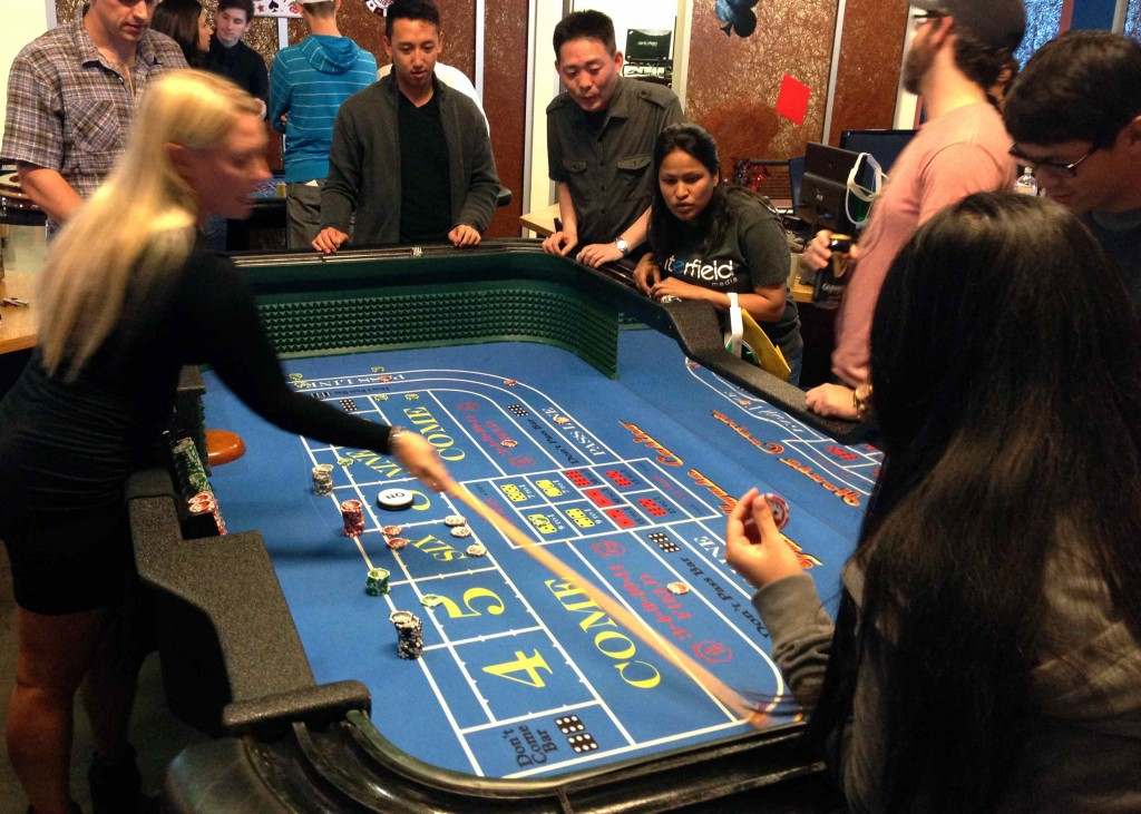 Craps Table Rentals Irvine, Orange County, CA
