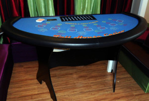 Three Card Poker Table Rental Orange County, Irvine, CA