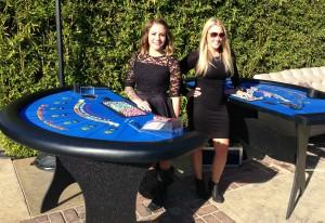 Blackjack Casino Table RentalIrvine, Orange County, CA