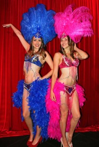 Vegas-style Showgirls For Casino Parties Orange County, CA