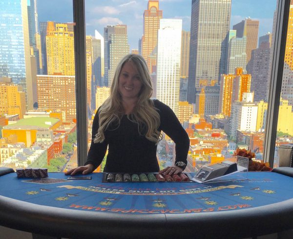 New York Blackjack Table